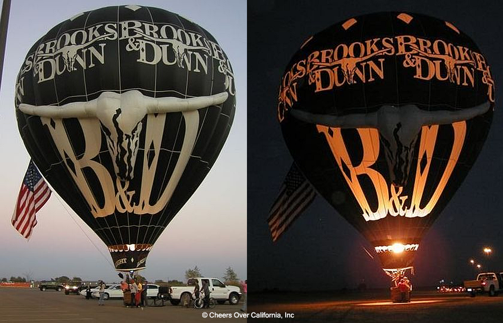 Cheers Aerial Media working with Brooks and Dunn - © Cheers Over California, Inc