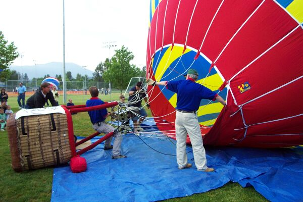 Cheers Inflation at All Sports Park in Grants Pass