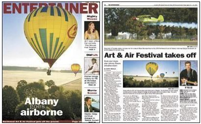 Cheers featured in Albany Democrat-Herald 'Entertainer' section